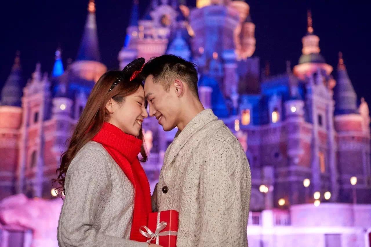 中国 バレンタインデー 上海ディズニーランド