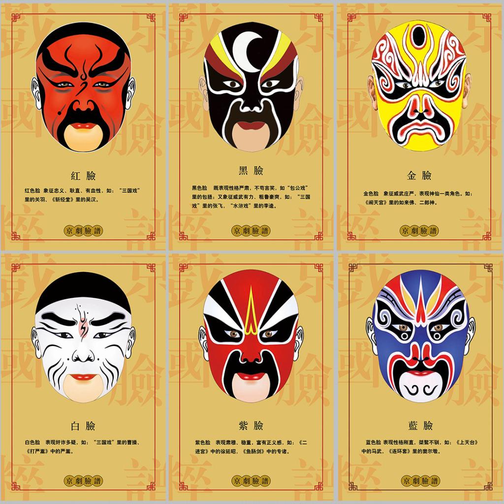 京劇 脸谱