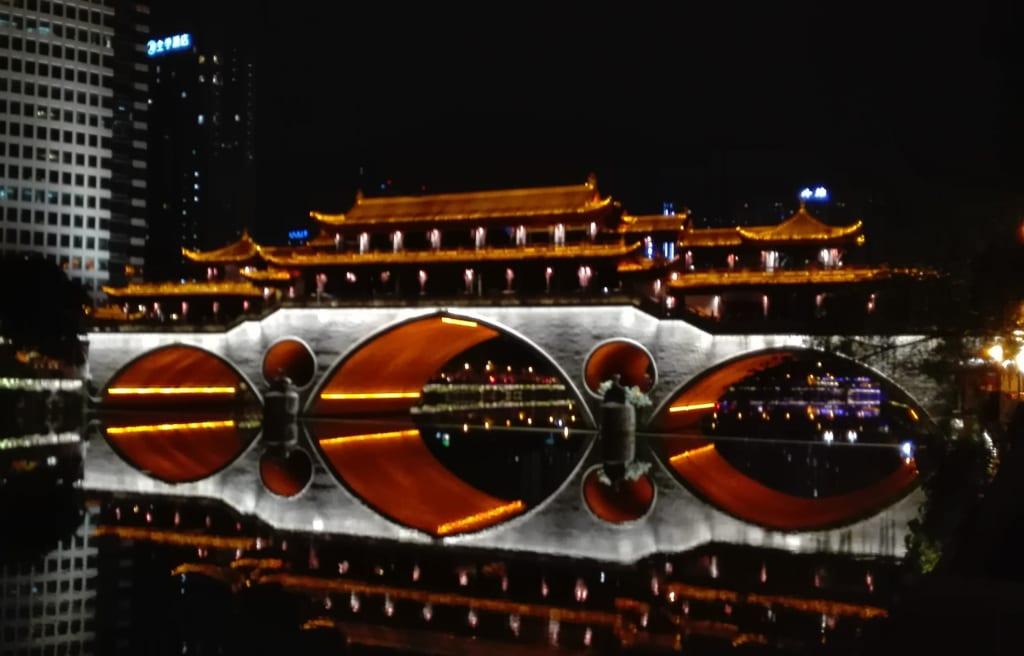 FL体験談_成都の安順廊橋